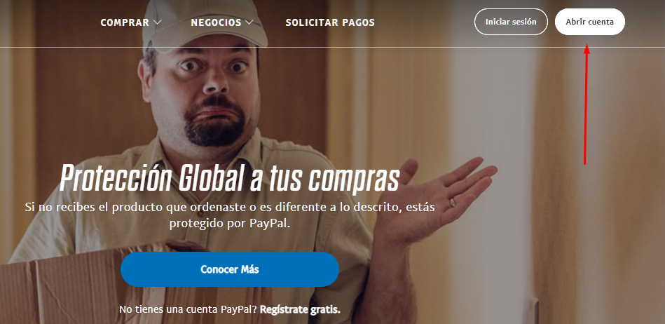Paypal imagen paso 1