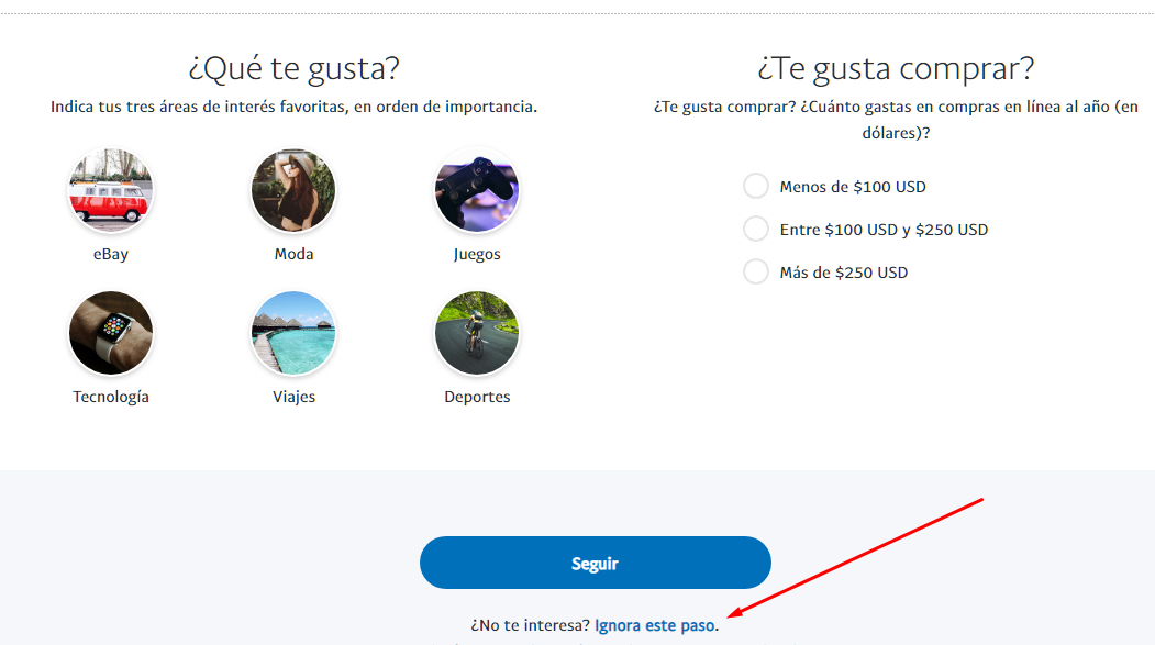 paypal imagen paso 3